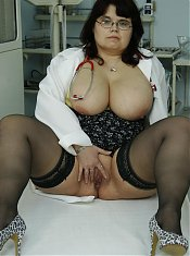 Big breasted nurse fucking her patient till he cums