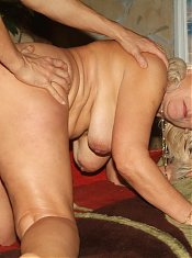 Blonde mature Remy got herself a young lover and invites him to engage in hardcore fucking live